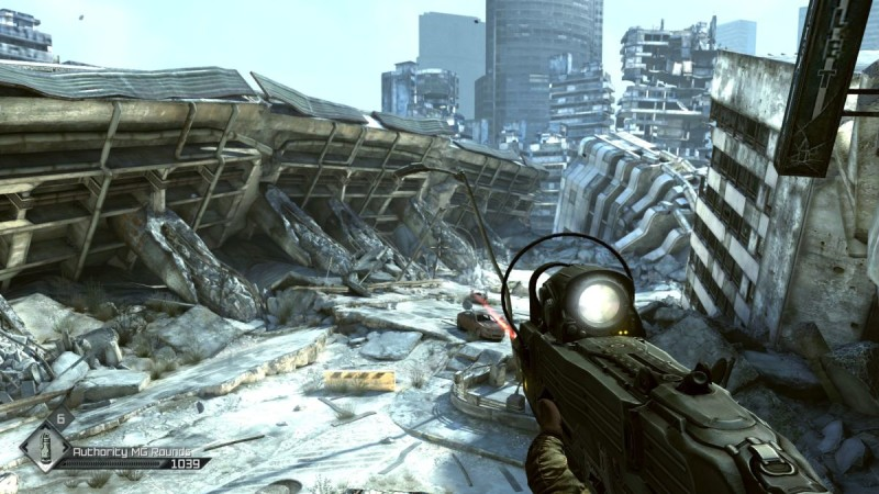 Rage First Person Shooter Screenshot